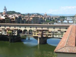 Мосты Веккио во Флоренции