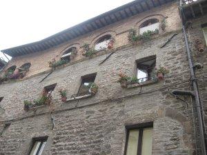 Средневековые дома Ассизи