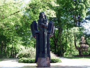 Памятник М.К. Чюрлёнису