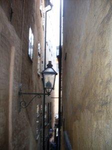 Стокгольм. Самая узкая улица