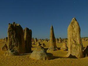 Пустынные камни