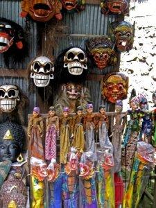 Сувениры с острова Бали, Индонезия