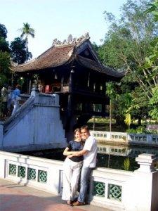 Ханой - у Пагоды на Одном Столбе, Вьетнам