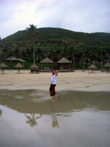 Нячянг - пляж отеля Vin Pearl 5*, Вьетнам