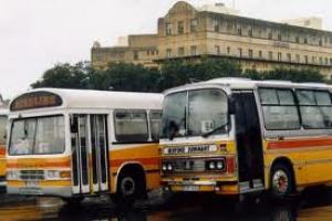 Автобусный терминал в Валлетте