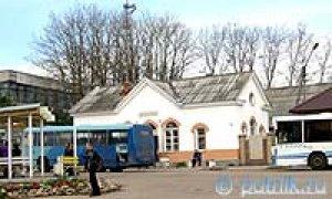 Автобусная станция в Валдае