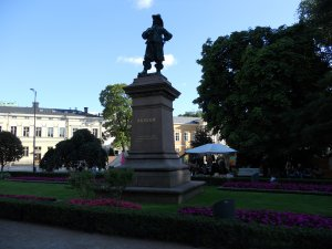 Памятник Перу Брахе в Турку