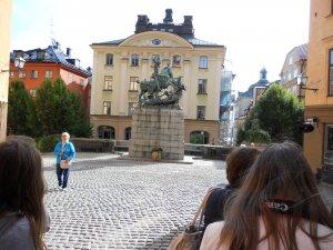 Памятник одному из шведских королей