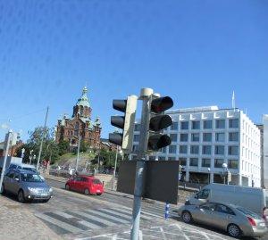 Одна из кату (улиц) Хельсинки