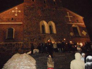 У Кафедрального собора Турку