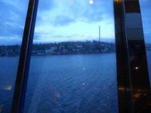 Подплываем к Стокгольму...