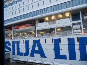 """Паром """"Европа"""" прибыл в Стокгольм"""