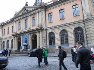 Здание Шведской Академии Наук