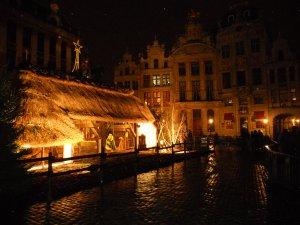 Рождественский вертеп на Великой площади