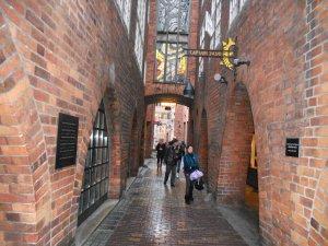 Переулок, ведущий к Рыночной площади