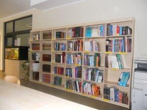 Локальная библиотека кабинета, изображенного выше
