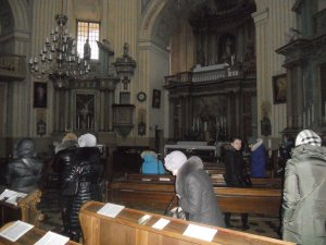 В одном из храмов Вильнюса