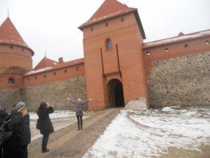 Перед входом в замок
