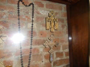 Карта Тракая и предметы религиозного культа
