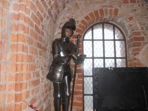 Статуя литовского воина