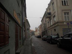 Узенькая улочка