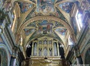 Интерьер церкви Кораблекрушения св. Павла