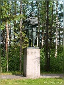 Памятник Марии Мельникайте из Друскининкая (современный парк Грутас)