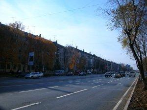 Улица Мельникайте в Тюмени
