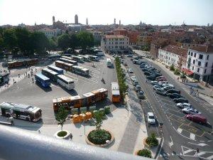 Вид с паркинга Венеция