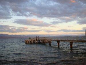 Мостки для захода в воду