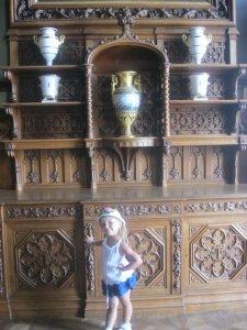 В одном из залов Воронцовского дворца