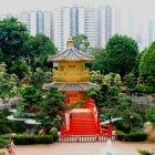 Живописный китайский сад Nan Lian, Гонконг