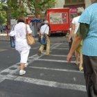 забавный пешеходный переход, где-то на Штефана Челмаре
