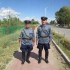 Монголы в форме офицеров 1939 года отправились к площади