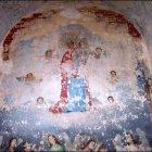 Проявившаяся в 2003 году фреска.