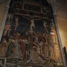Самая крупная настенная живопись Трансильвании 1445 г
