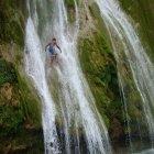 Лимонный водопад (Доминикана, остров Гаити)