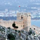 Древняя крепость Аланьи, Турция