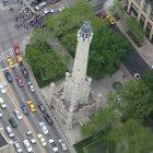Водонапорная башня в Чикаго, США