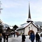 Горнолыжный курорт Гштаад, Швейцария
