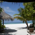 Остров атолла Лавиани, Мальдивы
