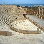 Амфитеатр в городе Лептис-Магна, Ливия