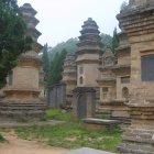 Мемориалы монахов Шаолинь, Китай