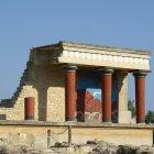 Руины Кносского дворца, Ираклион, Греция