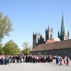 Кафедральный собор Нидарос, город Тронхейм, Норвегия