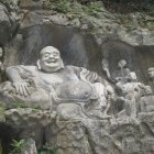 Смеющийся Будда, Храм Прибежища Души, Хуанчжоу