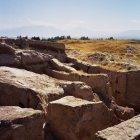 Руины, расположенные недалеко от Пенджикента, Таджикистан
