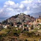 Небольшая деревня недалеко от Сан-Ремо, Италия