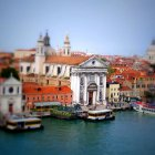 Венеция, Италия. Tilt-Shift