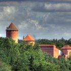 Турайдский замок, Сигулда, Латвия